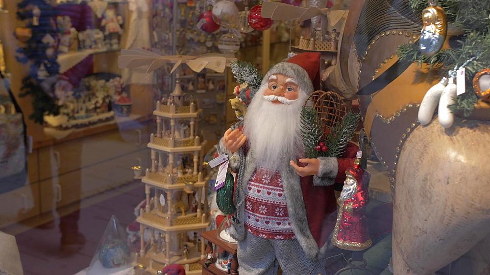 Father Christmas (Santa Claus), Munich, Bavaria, Germany, Europe