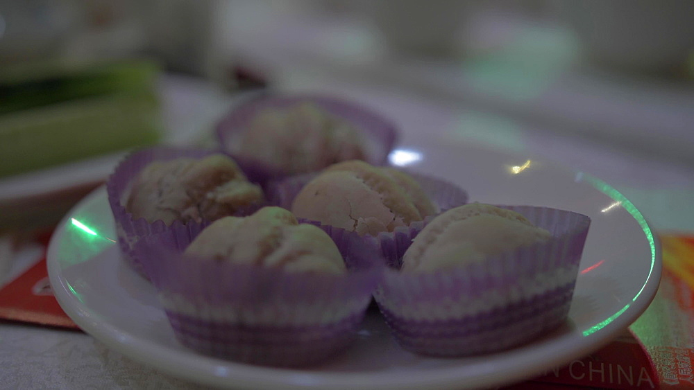 Chinese dumpling dinner, Lianhu, Xi'an, Shaanxi, People's Republic of China, Asia