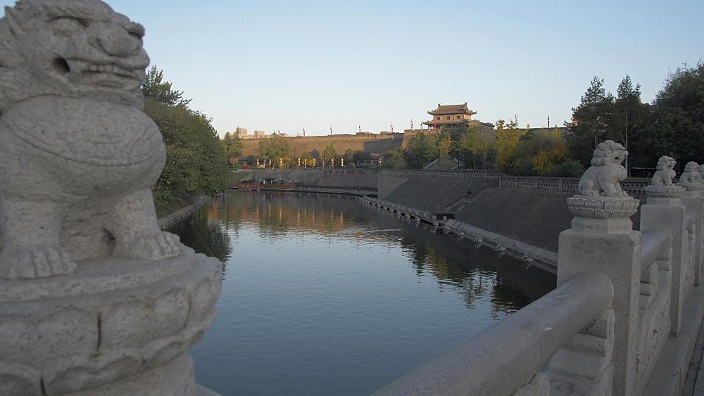 Xi'an Wall, Yongningmen in Huan Cheng Gong Park, Xi'an, Shaanxi, People's Republic of China, Asia