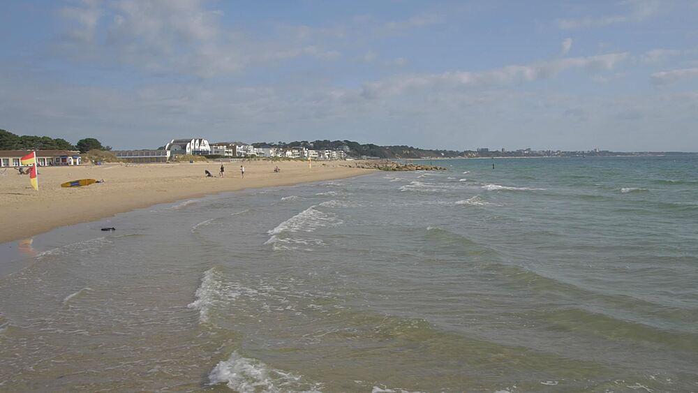 Sandbanks Beach, Poole, Dorset, England, United Kingdom, Europe