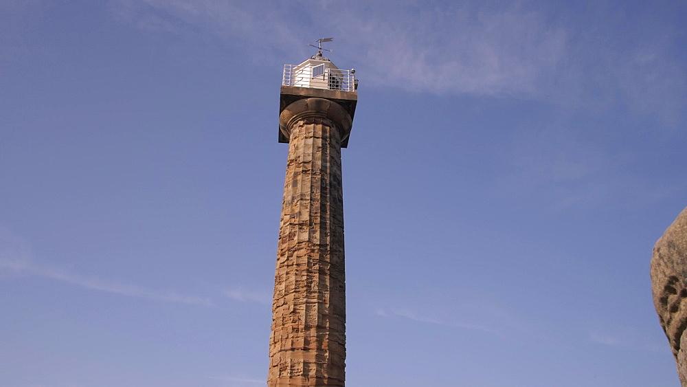 Whitby Lighthouse, Whitby, North Yorkshire, England, United Kingdom, Europe
