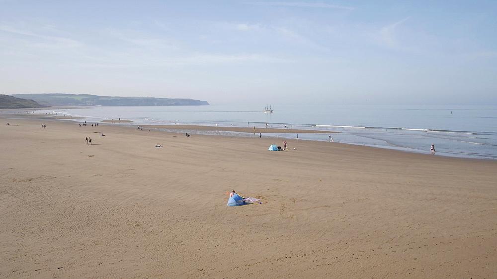 Whitby Beach, Whitby, North Yorkshire, England, United Kingdom, Europe