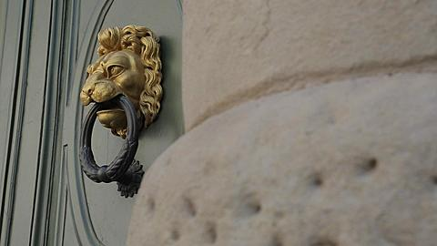 Ornate Door, Piazza del Duomo, Florence, Tuscany, Italy, Europe