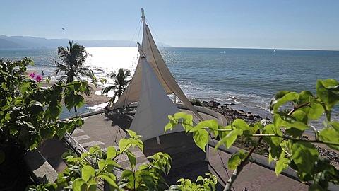 Promenade, Downtown, Puerto Vallarta, Jalisco, Mexico, North America