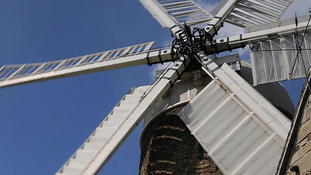 View of Heage Windmill, Heage, Derbyshire Dales, Derbyshire, England, UK, Europe