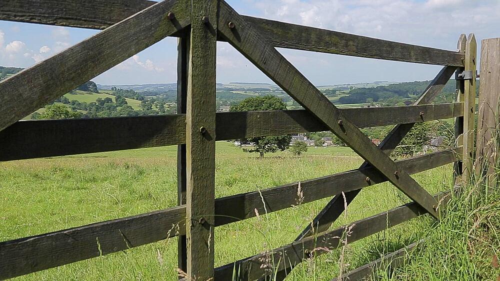 Countryside near Bakewell, Peak District National Park, Derbyshire, England, UK, Europe
