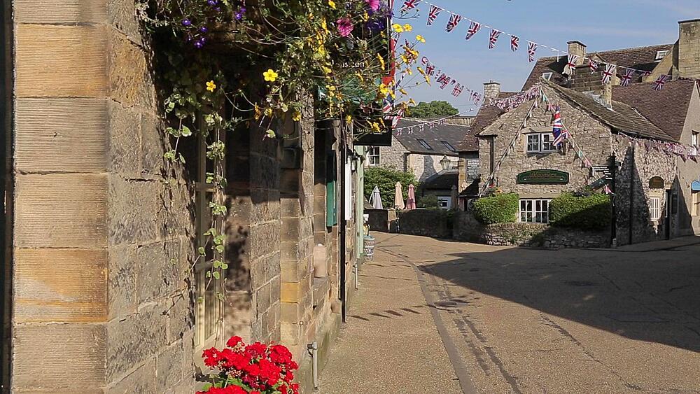 Town Centre Bakewell, Peak District National Park, Derbyshire, England, UK, Europe