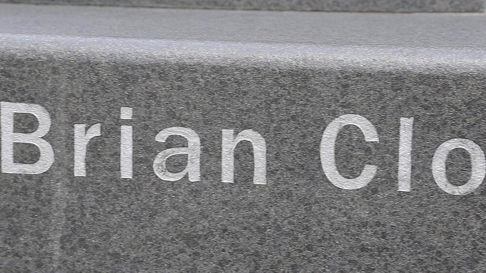 The Brian Clough Memorial Statue, Nottingham, Nottinghamshire, England, UK, Europe