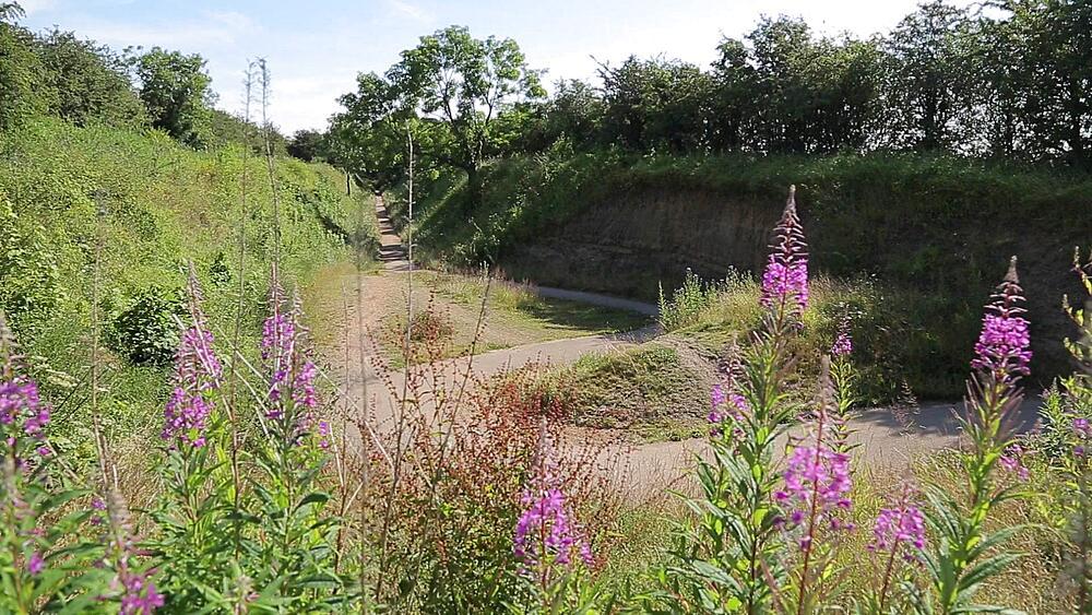 Teversal Trail near Mansfield, Nottingham, Nottinghamshire, England, UK, Europe