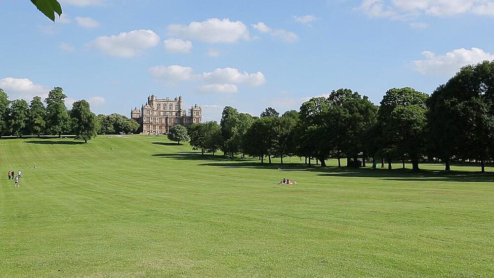 Wollaton Hall & Deer Park, Nottinghamshire, England, UK, Europe