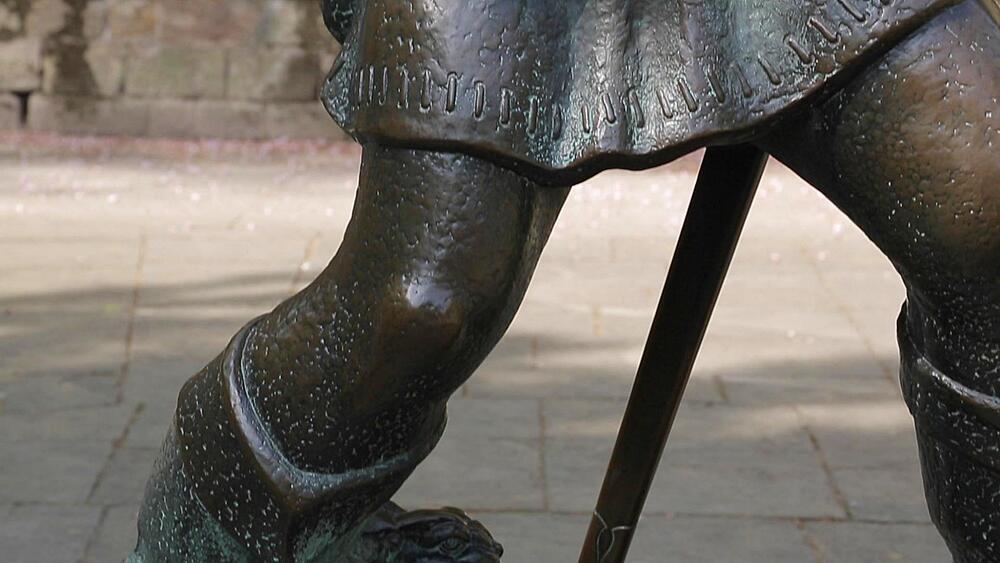 Robin Hood Statue, Nottingham, Nottinghamshire, England, UK, Europe