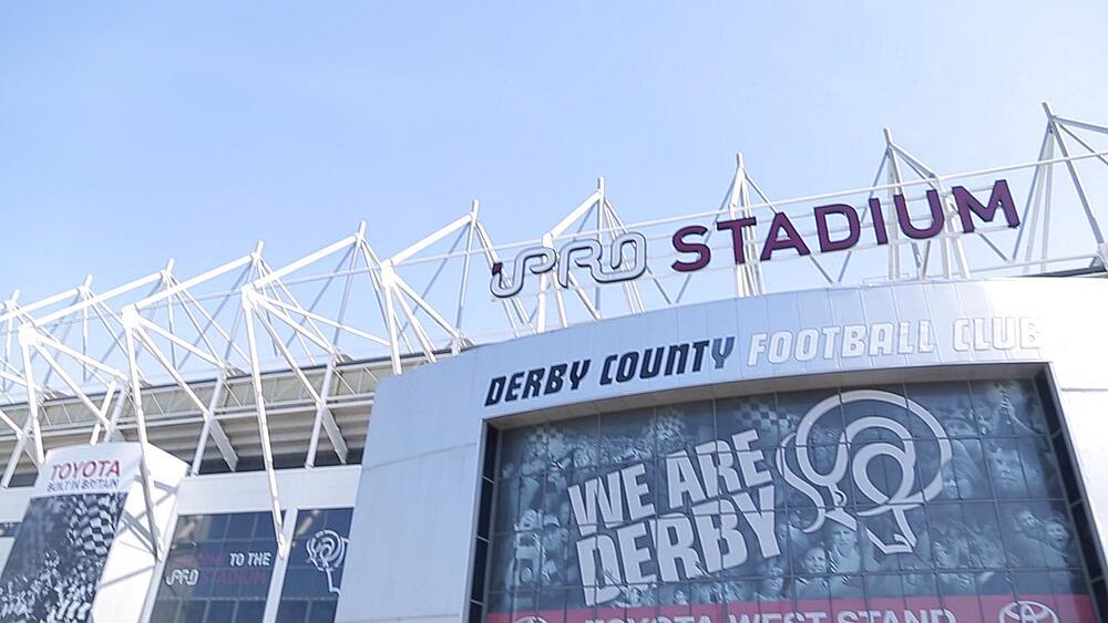 Derby County Football Ground, Derby Derbyshire, England, UK, Europe