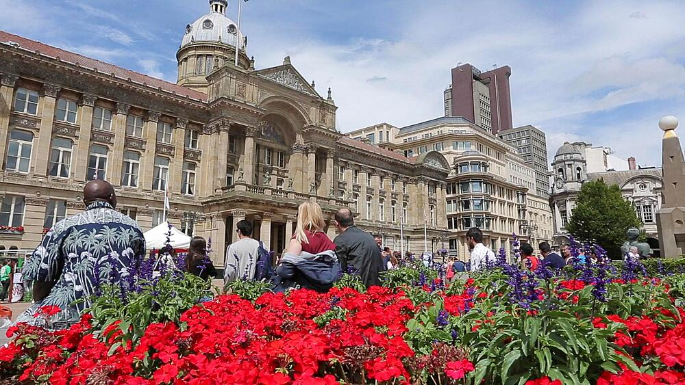 Activities at  the Council House & Victoria Square, Birmingham, West Midlands, England, United Kingdom, Europe