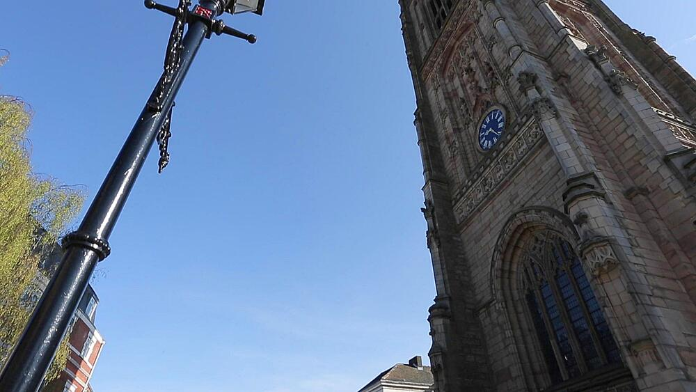 Cathedral, Derby Derbyshire, England, UK, Europe