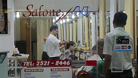 Shop on Nossa Sra de Copacabana, Rio de Janeiro, Brazil, South America