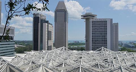 View over Marina Bay, Singapore, South Asia, Asia