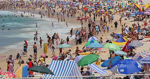 Bondi Beach, Sydney, New South Wales, Australia  - 844-8403