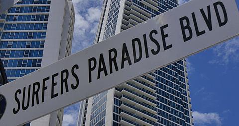 Surfers Paradise Boulevard, Surfers Paradise, Gold Coast, Queensland, Australia