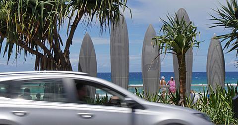 The Esplanade, Surfers Paradise, Gold Coast, Queensland, Australia