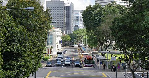 Busy Street, Singapore, South Asia, Asia