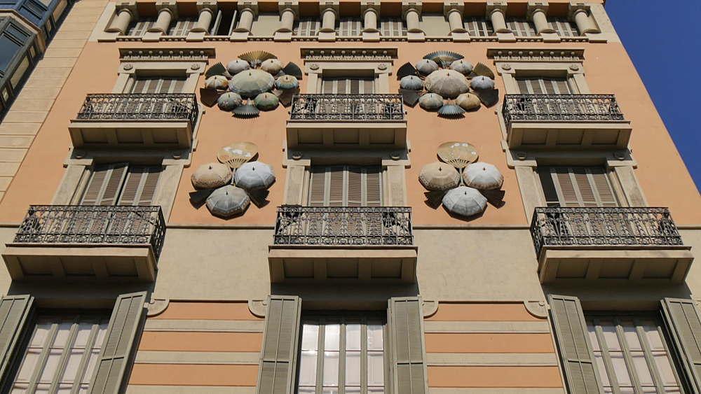 Casa Bruno Quadros, La Rambla, Barcelona, Catalonia, Spain, Europe
