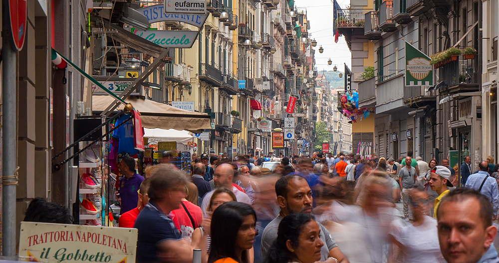 Via Toledo, Naples, Metropolitan City of Naples, Campania, Italy, Europe