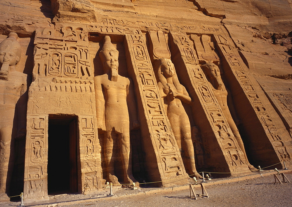 Temple of Nefertari, Abu Simbel, Egypt - 1-38858