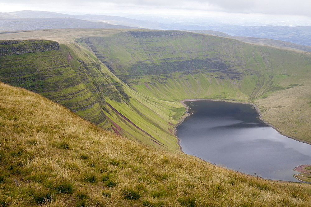 Llyn y Fan Fach, Brecon Beacons, Wales, United Kingdom, Europe - 10-457