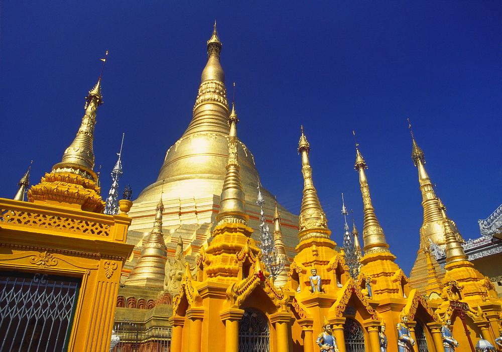 Schwedagon Pagoda, Rangoon, Myanmar