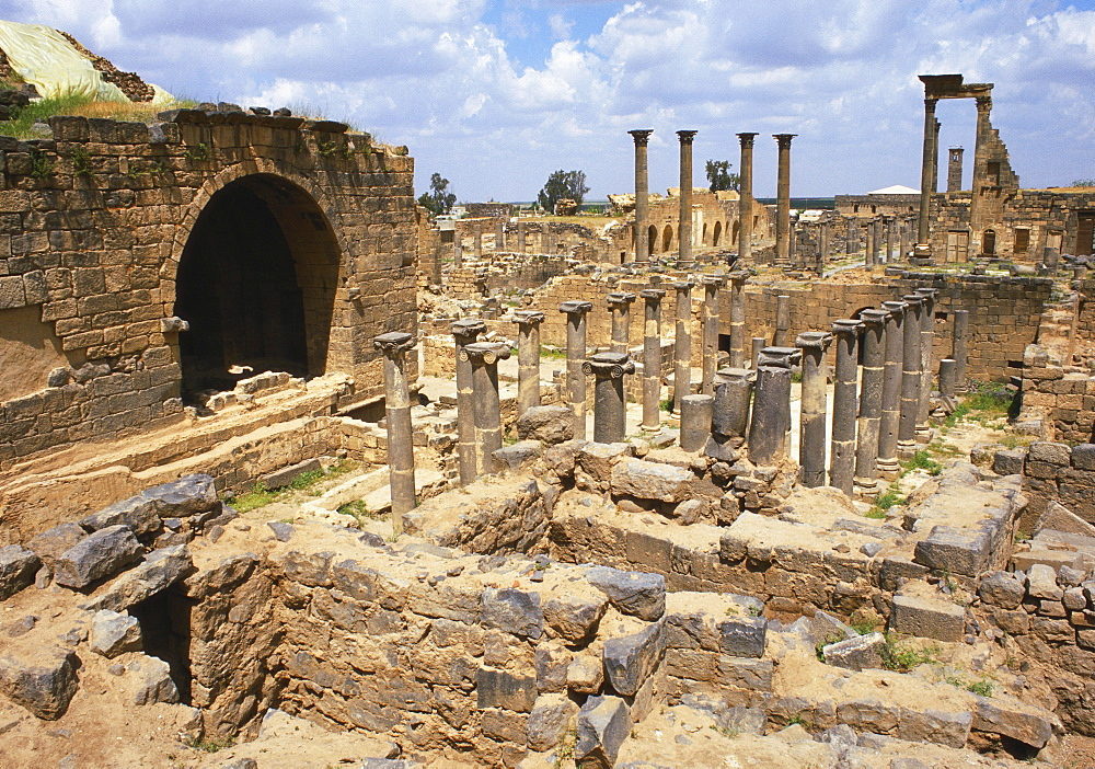 Cardo Maximus, Bosra, Syria, Middle East