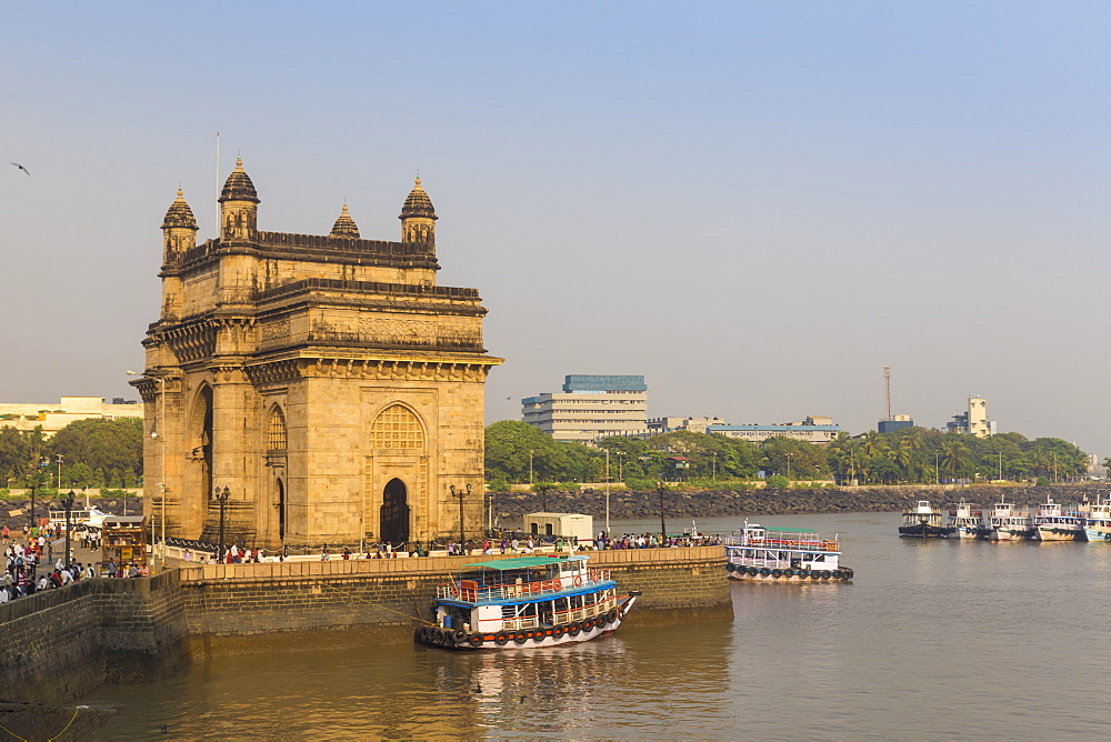 View of Gateway of India, Mumbai, Maharashtra, India, Asia - 1104-1008