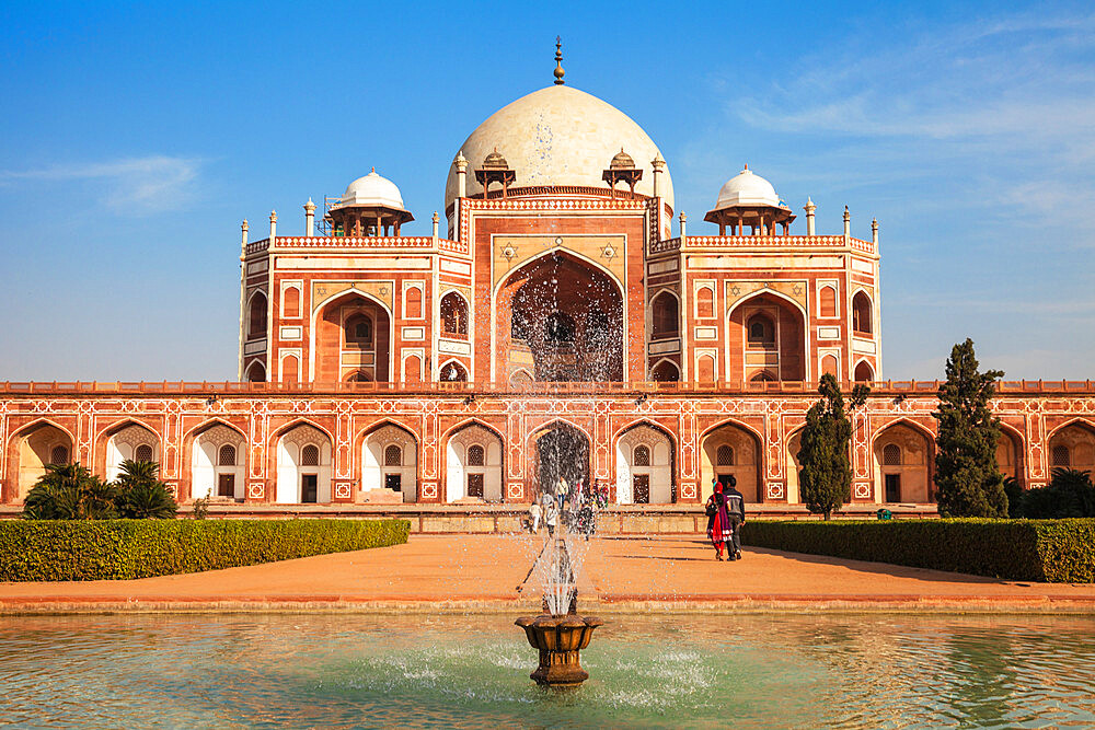 Humayun's Tomb, UNESCO World Heritage Site, New Delhi, Delhi, India, Asia - 1104-1063