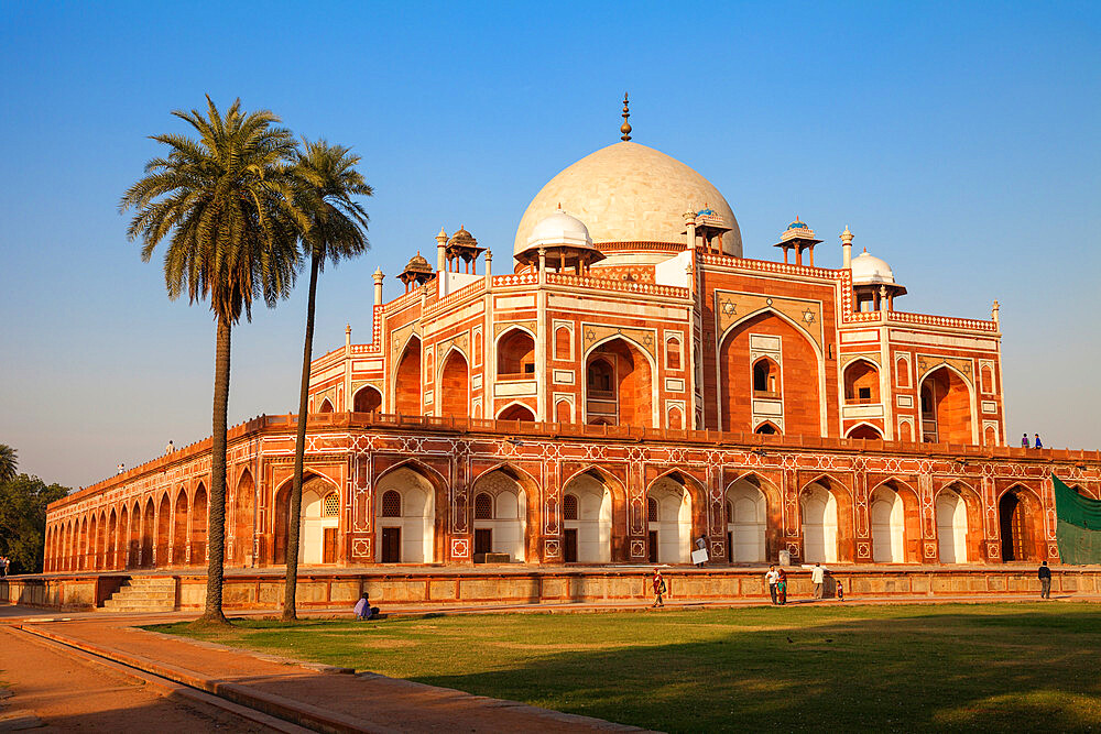 Humayun's Tomb, UNESCO World Heritage Site, New Delhi, Delhi, India, Asia - 1104-1067