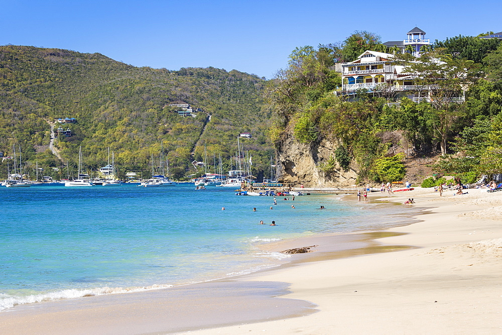 Princess Margaret Beach, Bequia, The Grenadines, St. Vincent and The Grenadines, West Indies, Caribbean, Central America