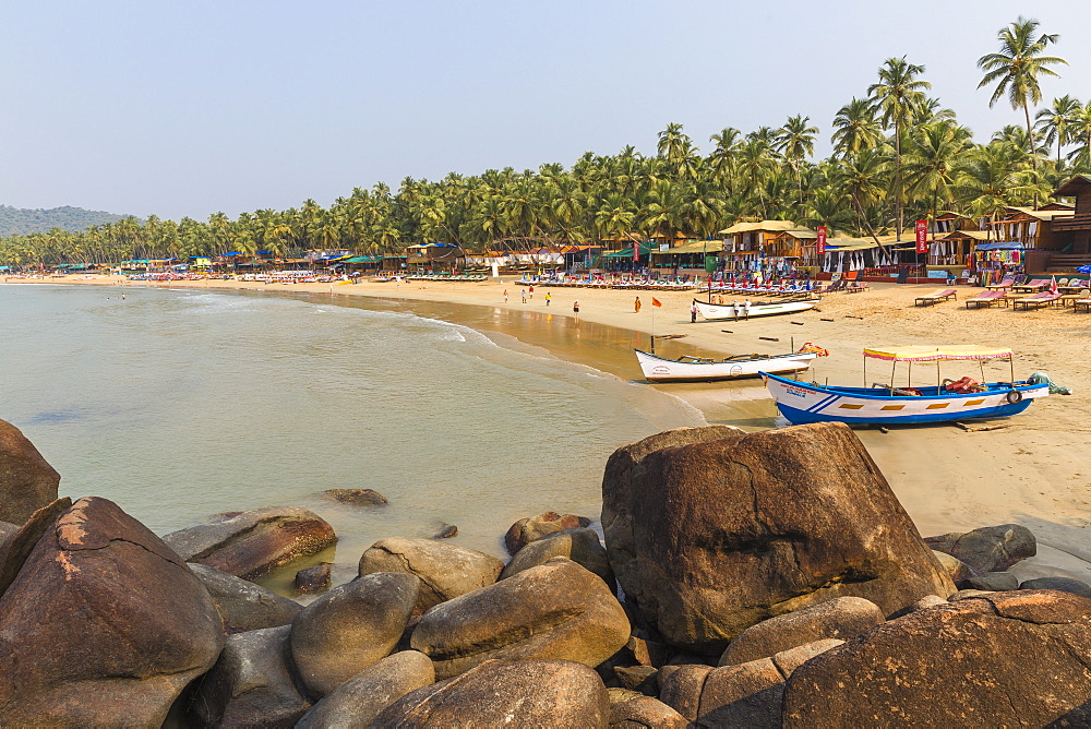 Palolem Beach, Goa, India, Asia