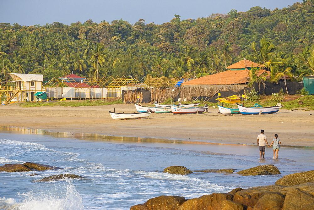 Agonda Beach, Goa, India, Asia - 1104-1185