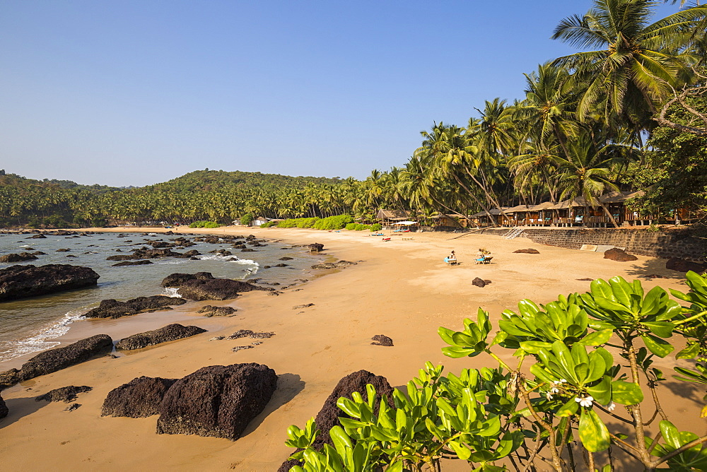 Kokolom beach, Goa, India, Asia
