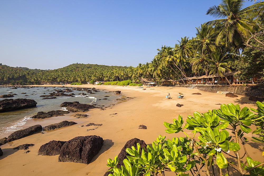Kokolom beach, Goa, India, Asia - 1104-1186