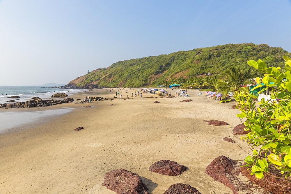 India, Goa, Arambol, Wagh Colamb beach - 1104-1190