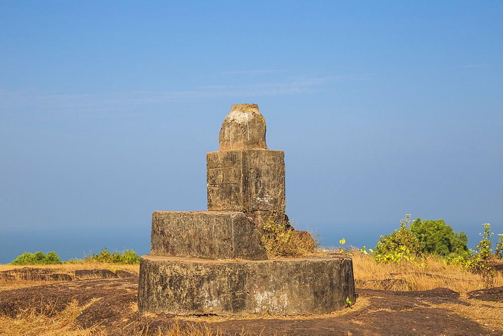 India, Goa, Vagator, Chapora Fort - 1104-1193