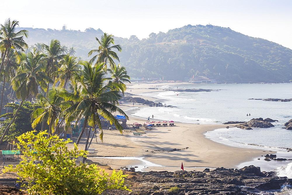 India, Goa, Ozran Beach known as Little Vagator Beach - 1104-1194