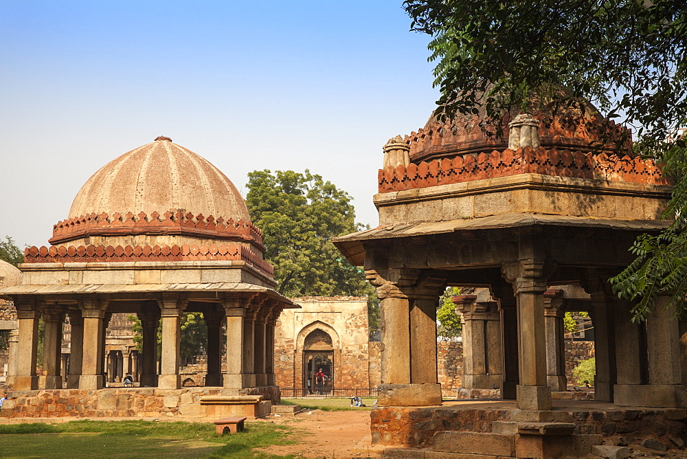 Tuglaq Tombs, Hauz Khas, Delhi, India, Asia