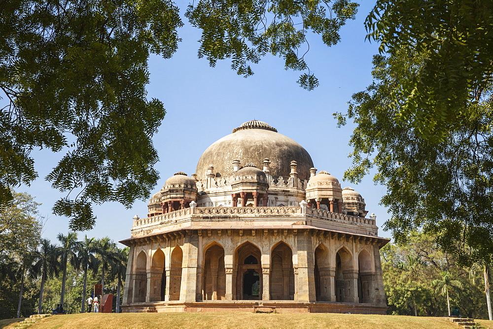 India, Delhi, new Delhi, Lodi Garden, Mohammed Shah's Tomb