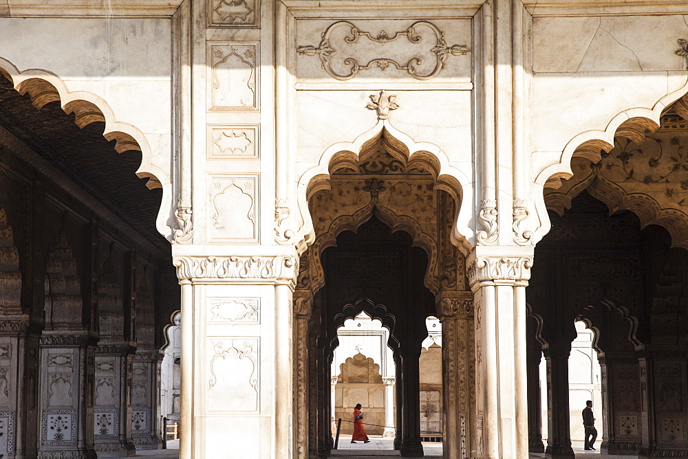 Diwan-i-Khas, Red Fort, Old Delhi, Delhi, India, Asia