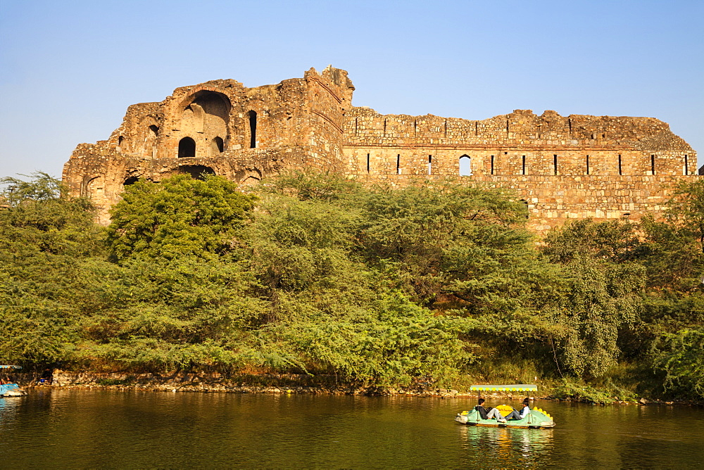 Purana Quila, Old Fort, Delhi, India, Asia