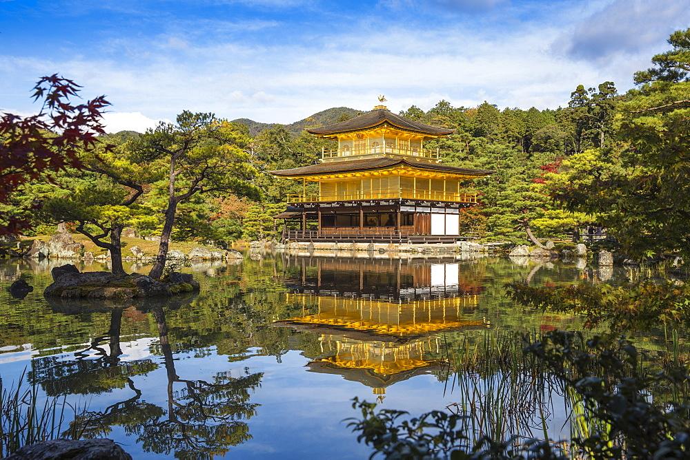 Kinkaku (The Golden Pavilion), UNESCO World Heritage Site, Kyoto, Japan, Asia
