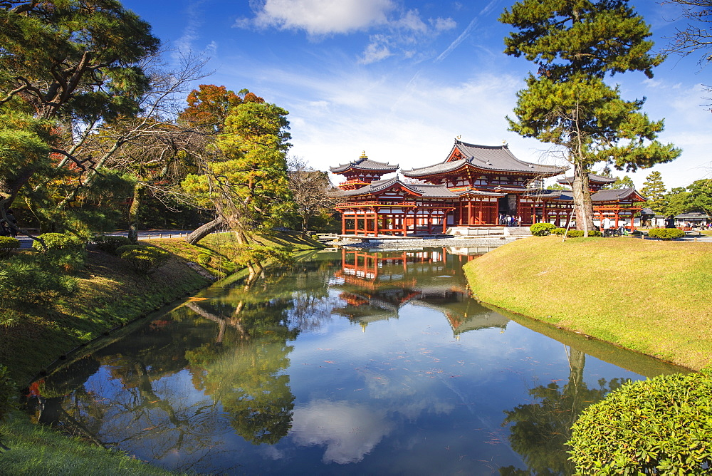 Byodoin (Byodo-in) Temple, UNESCO World Heritage Site, Kyoto, Japan, Asia