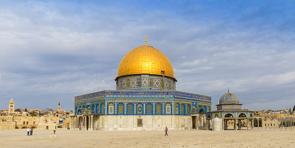 Dome of the Rock, Old City, UNESCO World Heritage Site, Jerusalem, Israel, Middle East - 1104-1310