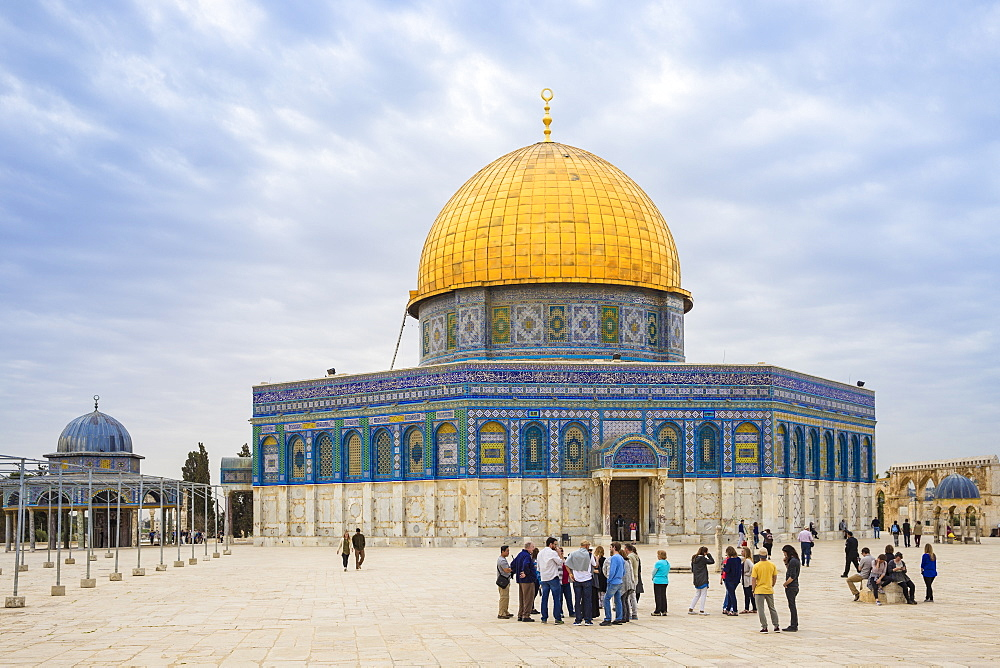 Israel, Jerusalem, Temple Mount, Dome of the Rock