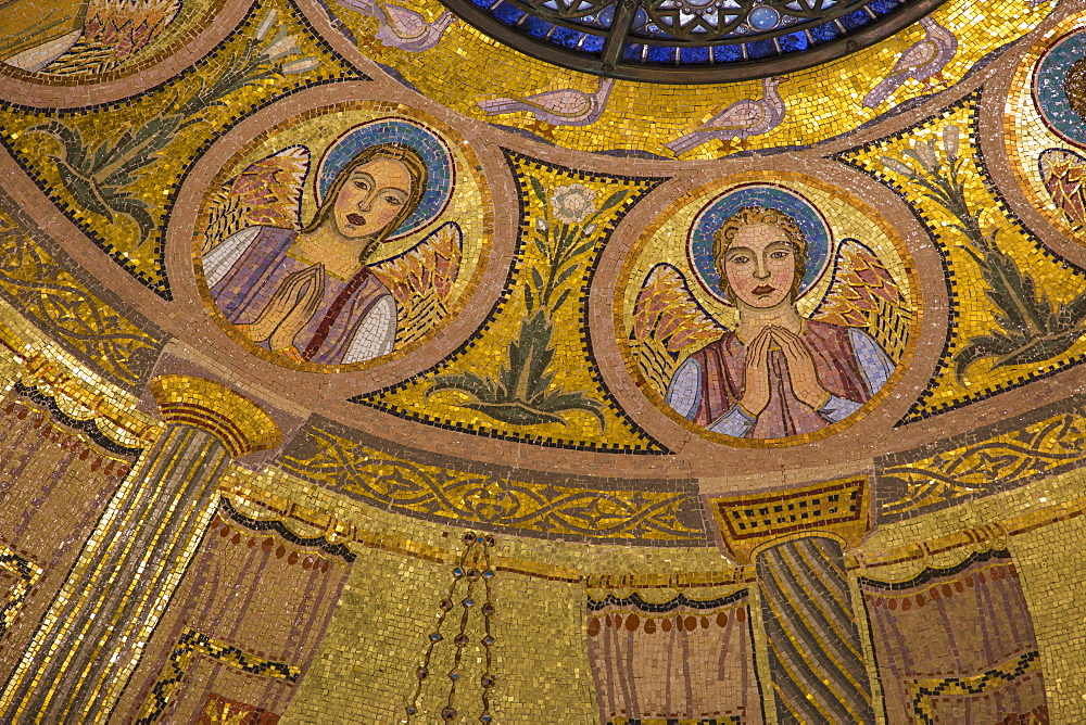 Church of All Nations (Church of the Agony) (Basilica of the Agony), Mount of Olives, Jerusalem, Israel, Middle East - 1104-1338